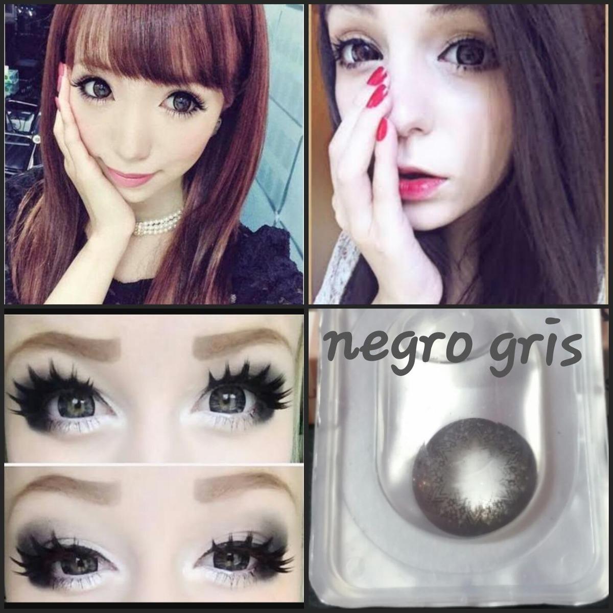 eb2382f9b3d38 pupilentes big eye ojo de muñeca lolita cosplay circle lens. Cargando zoom.