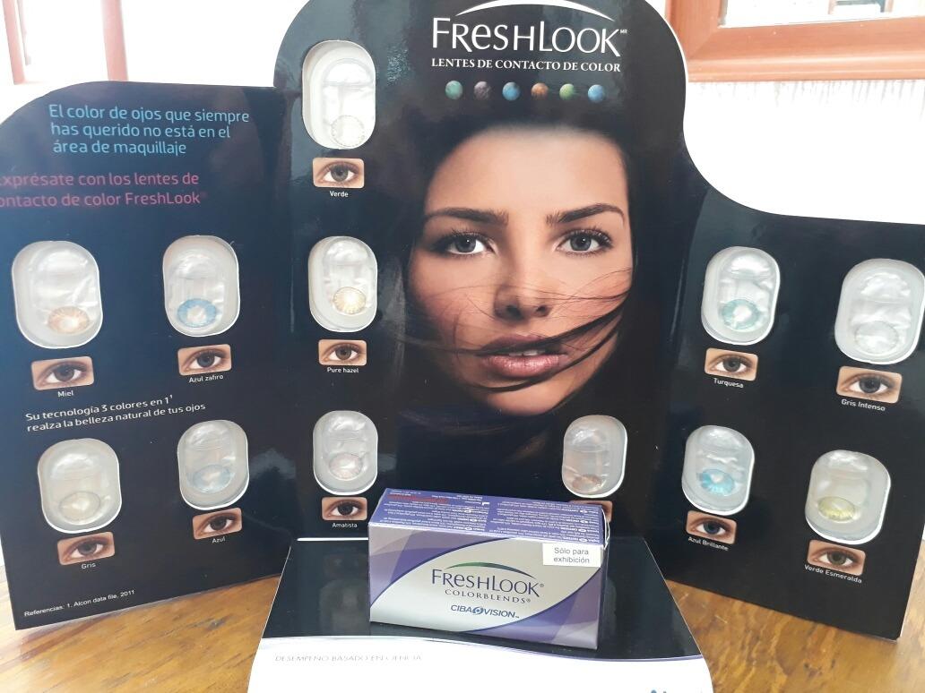 e8959952387a9 Pupilentes Fresh Look De Color -   250.00 en Mercado Libre