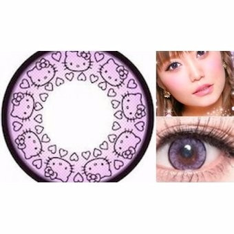 pupilentes hello kitty 18.5mm big eyes-azul