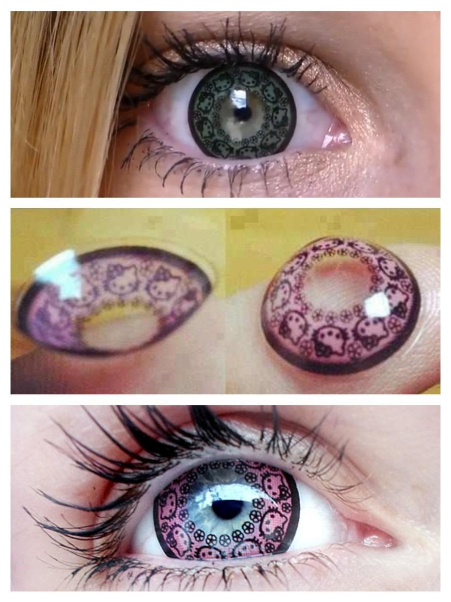 94dec4b6f598c Pupilentes Lentes Hello Kitty Circle Lenses Originales -   250.00 en ...