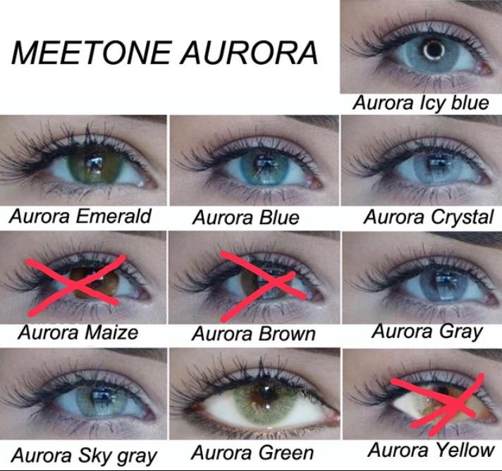 4341050e23be2 Pupilentes Marca Meetone Linea Aurora .colores Disponibles ...