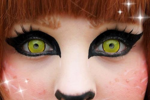 pupilentes mini 16mm cosplay naruto sharingan itachi