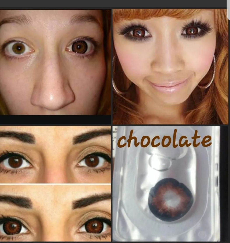 9193ac0dc52aa pupilentes ojo de muñeca big eye circle lens anime grandes. Cargando zoom.