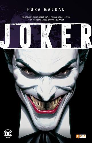 pura maldad joker libro ecc españa tapa dura