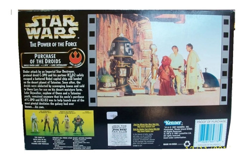 purchase of the droids star wars