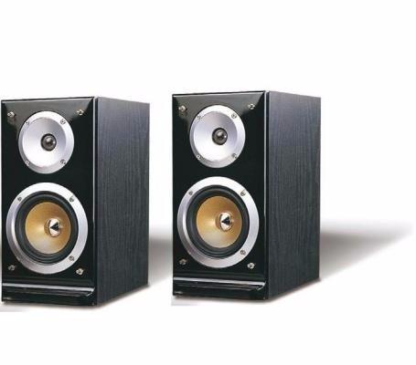 pure acoustics qx900 s caixas bookshelf 150wrms rev of (par)