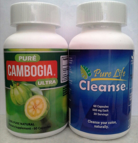 pure cambogia + pure life cleanse