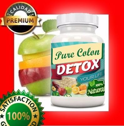 pure colon purecolon cleanese detox adelgazante adelgazar
