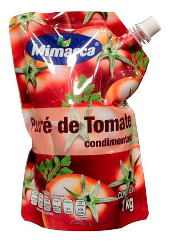pure de tomate condimentado mimarca 1 kg