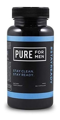 pure for men suplemento vegano  de fibra de limpieza origina