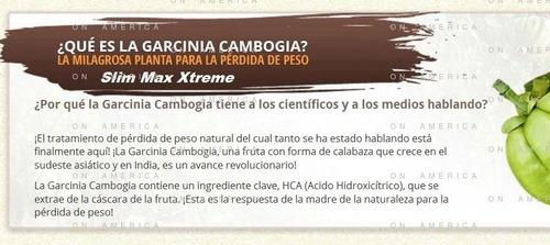 pure garcinia cambogia 95% hca maxima consentracion 6 envase
