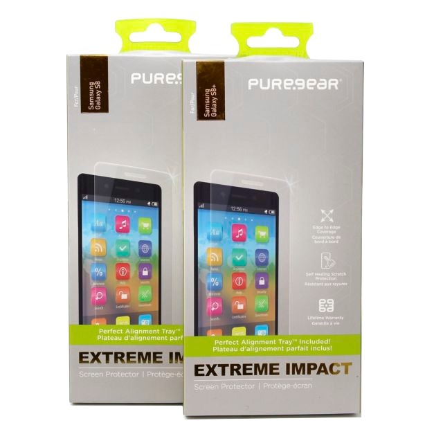 PureGear Extreme Impact Screen Protector for Samsung Note 8