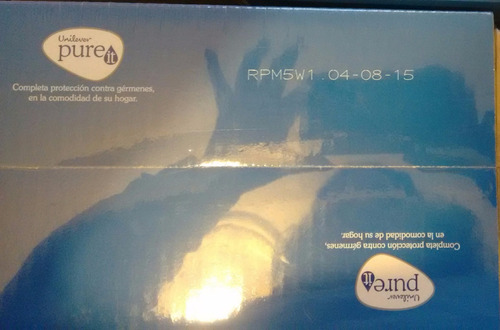 pure it kit de repuesto 9 l + filtro microfibra + envío