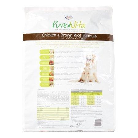 pure vita dry dog food pollo y arroz integral 5 lbs