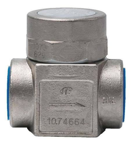 purgador termodinâmico vapor mdt-421 1  bspt inox