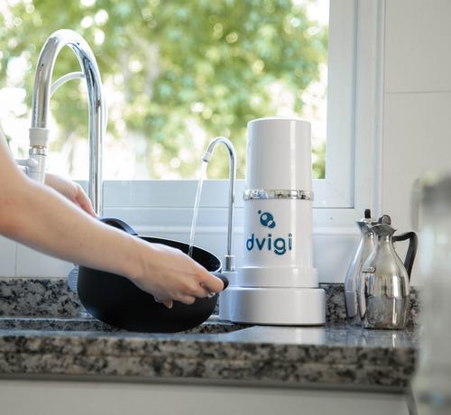 purificador agua dvigi filtro sobre mesada aprobado anmat