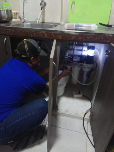 purificador  agua osmosis inversa-6 etapa incluye bomba