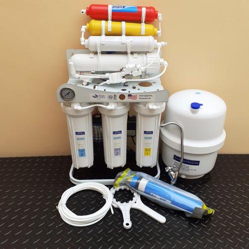 purificador  agua ósmosis inversa 7 etp. con base