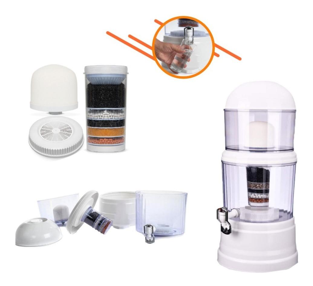 Resultado de imagen para Purificador De Agua 16 Litros Tu Propia Agua Mineral En Casa