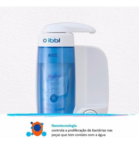 purificador de agua avanti ibbl branco nanotecnologia mio