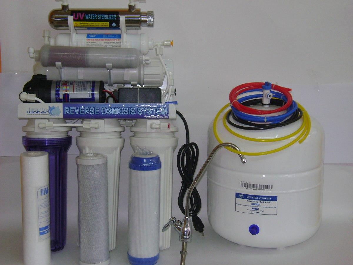 Purificador de agua con osmosis inversa 7 etapas u s - Agua de osmosis ...