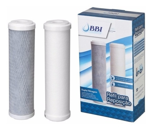 purificador de água de bancada doble tripla filtração