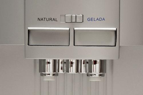 purificador de água eletrônico polar prata - natural e gelad