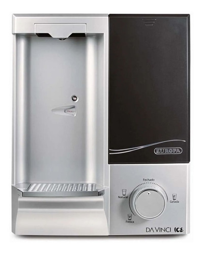 purificador de água gelada europa da vinci ice inox c/ nota fiscal