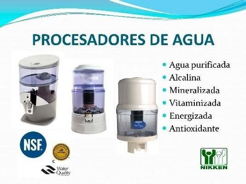 purificador de agua ionizada y alcalina nikken