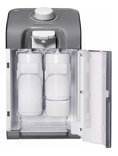 purificador de agua latina pn555 fume escuro dupla filtragem