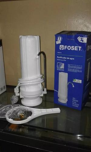 purificador de agua marca foset.