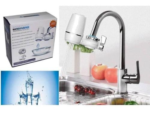 purificador de agua para torneira filtro cromado universal
