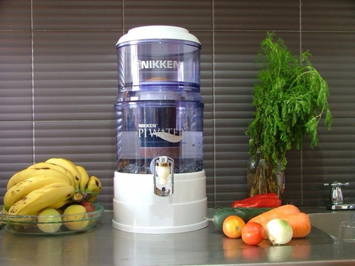 purificador de agua viva de nikken pi water agua viva