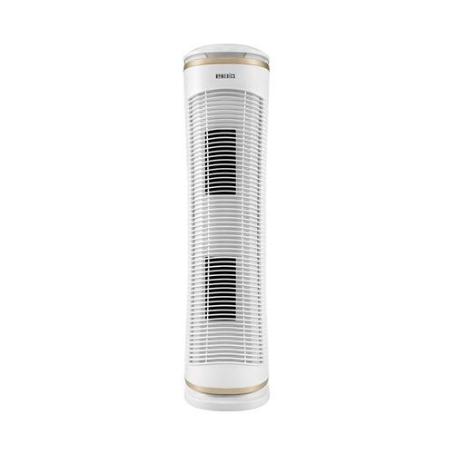 purificador de aire homedics tower 17.46m²  blanco