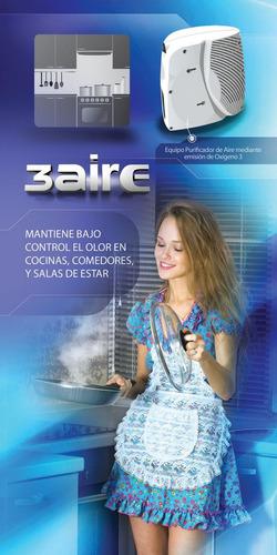 purificador de aire mediante ozono 3air200 cubre hasta 600m3