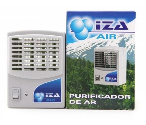 purificador de ar, ozonizador e ionizador  1,5w 80m³ bivolt