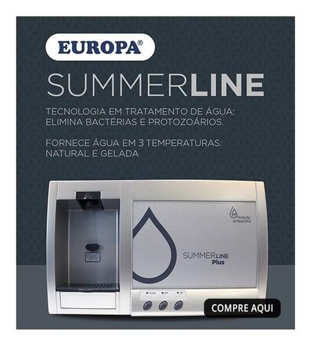 purificador europa summer line plus hf inox 127v- c/ n f