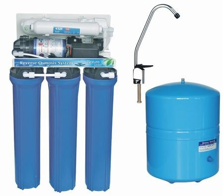 purificador filtro agua con ósmosis inversa 5 etapas.