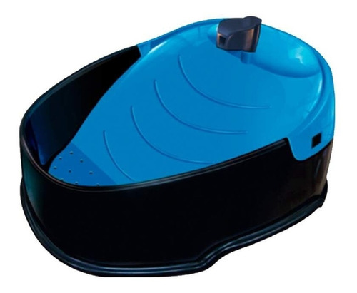 purificador fonte furacãopet pop para cães e gatos azul 110v