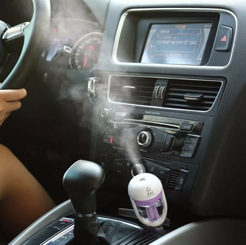 purificador humificador aire para auto aromaterapia - te757