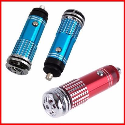 purificador ionizador de aire para automóvil sin olores