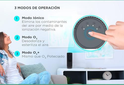 purificador ozonizador ionizador aire elimina olores 200 mts