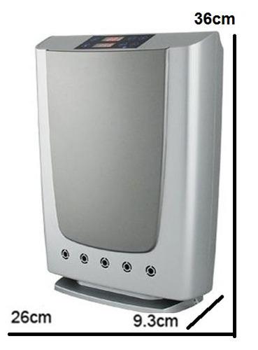 purificador y ozonizador de aire, agua con sistema plasma.