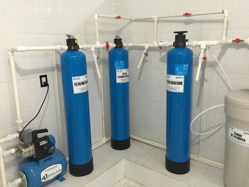 purificadora de agua con suavizador 400 garrafones