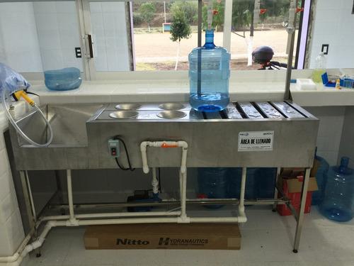 purificadora de agua con suavizador 400 garrafones aguaxaca