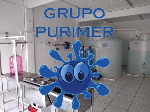 purificadoras agua mantenimiento plantas
