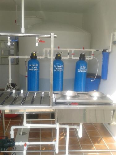 purificadoras agua plantas