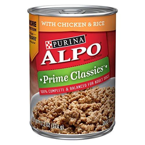purina alpo prime classics con pollo y arroz comida para per