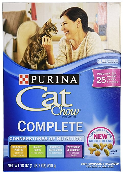Purina Cat Chow Fórmula Completa, 18 Oz (pack De 1)