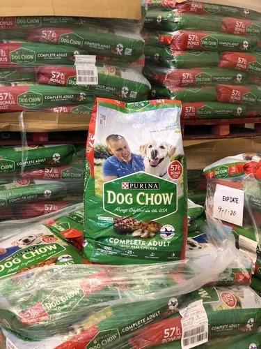 purina  dog chow 57 libras (25,9 kg)